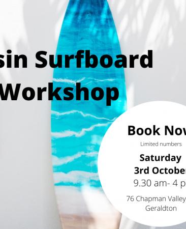 resin surdboard workshop