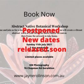 Geraldton Abstract Native Botanical Workshop 11th July